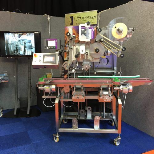 Pre-owned labelling machines