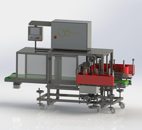 Corner Labelling Machine
