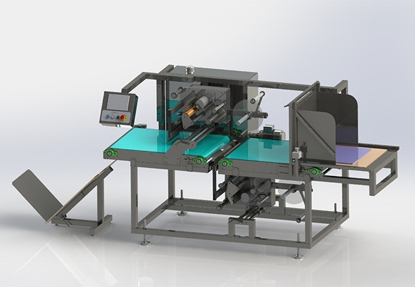 Flat Carton Labelling Machine