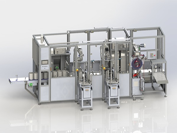 Paint Can Labelling Machine