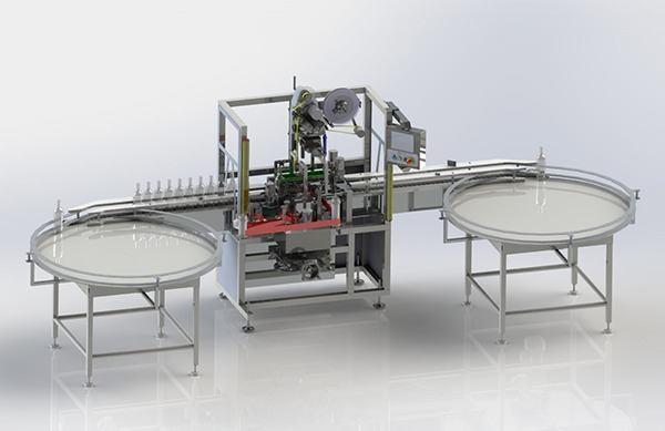 Tamper-Proof Labelling Machine