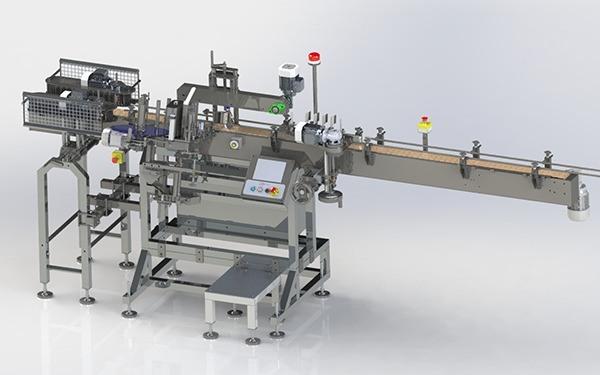 Taper Neck Labelling Machine