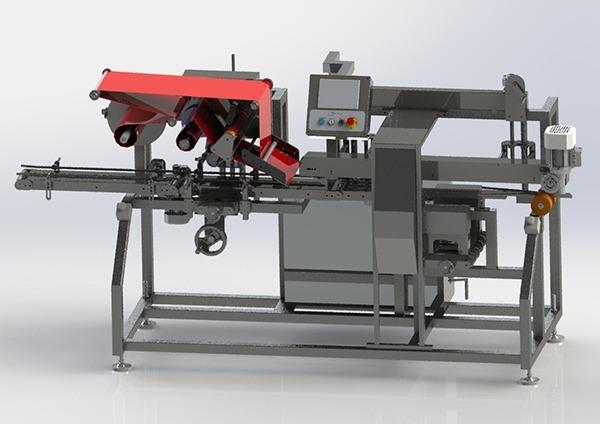 Watch Strap Labelling Machine